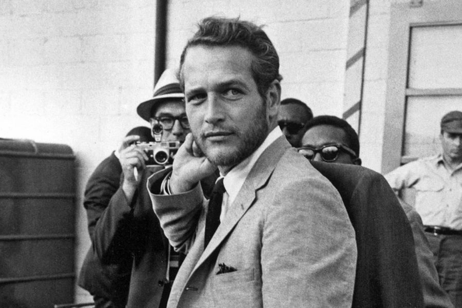 Paul Newman wears blazer