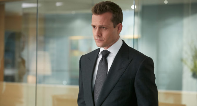 And speaking of Harvey Specter, that high-flying lawyer from the.