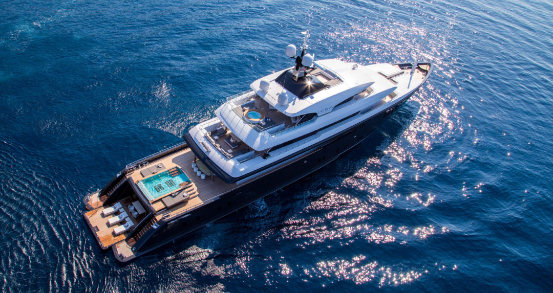 ICON: Inside the £62m superyacht