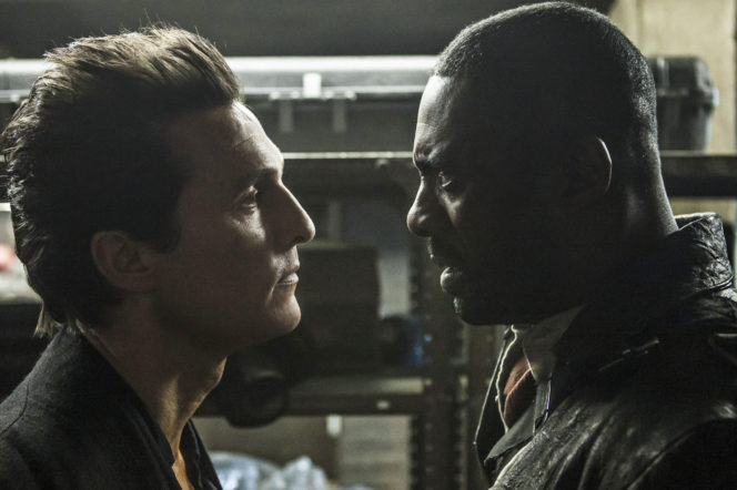 Idris Elba and Matthew McConaughey Dark Tower