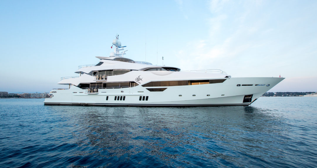 Everything you need to know about this £32million superyacht