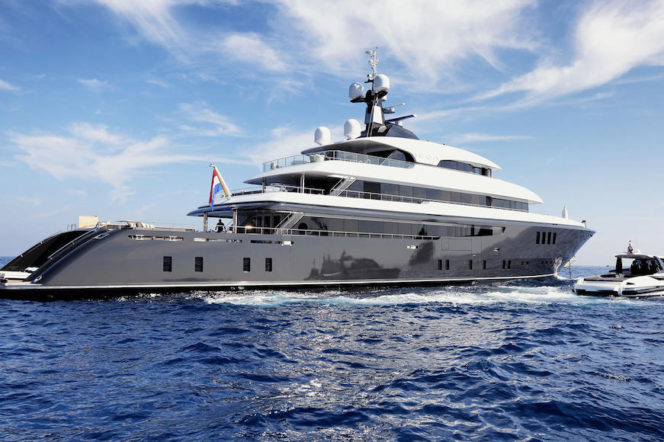 10 of the most beautiful yachts from this year's Monaco Yacht Show