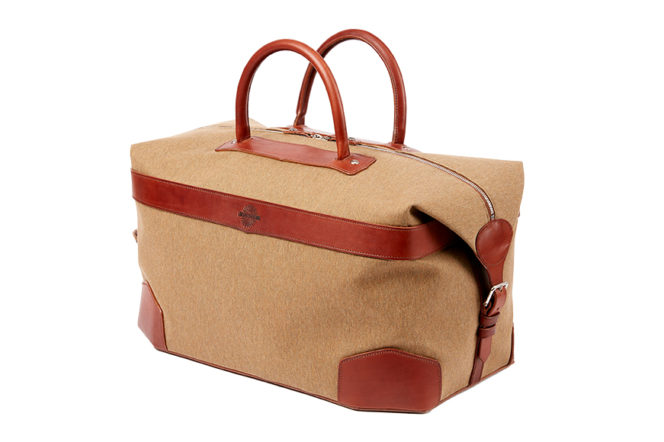 The new luggage collection from Purdey