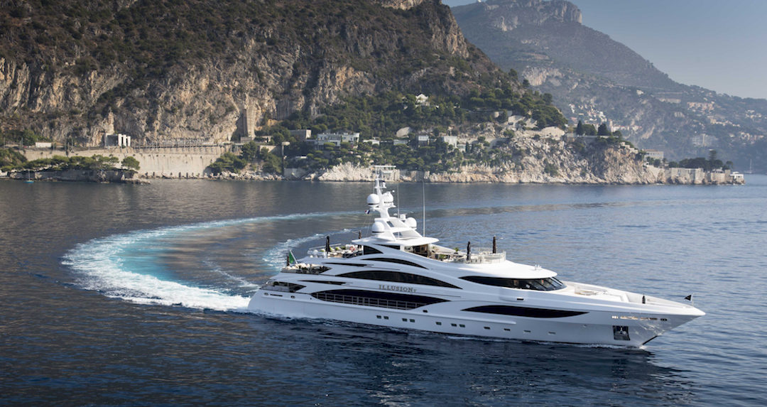 Introducing: Illusion V, the incredible 58m yacht you can charter now