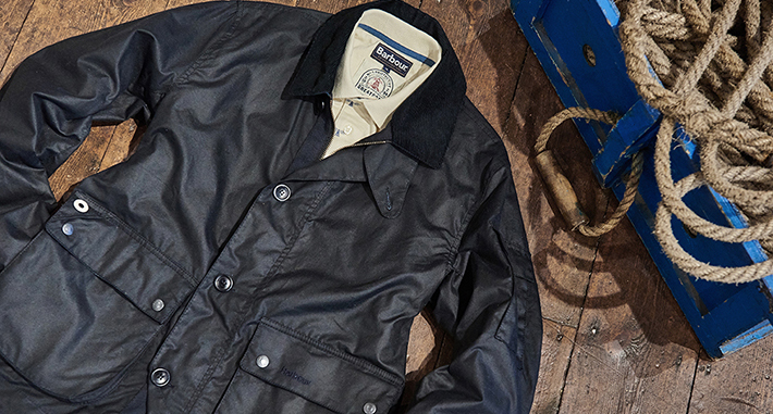 The story of Barbour and the original wax jacket