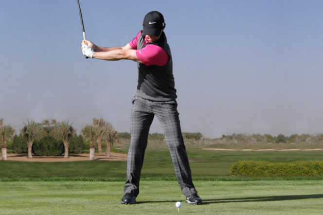 A gentleman's guide to taking the perfect golf swing