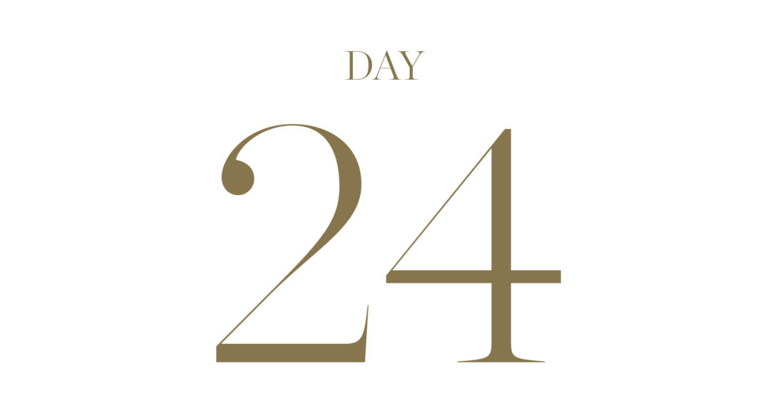 December 24th: win a night at Belmond Le Manoir, a Clements and Church Bespoke Suit + a piece of handmade Italian luggage