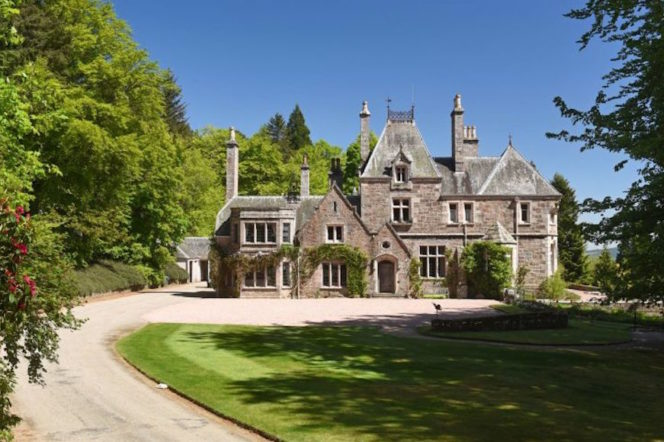 The Scottish mansions you can buy for the price of a London home