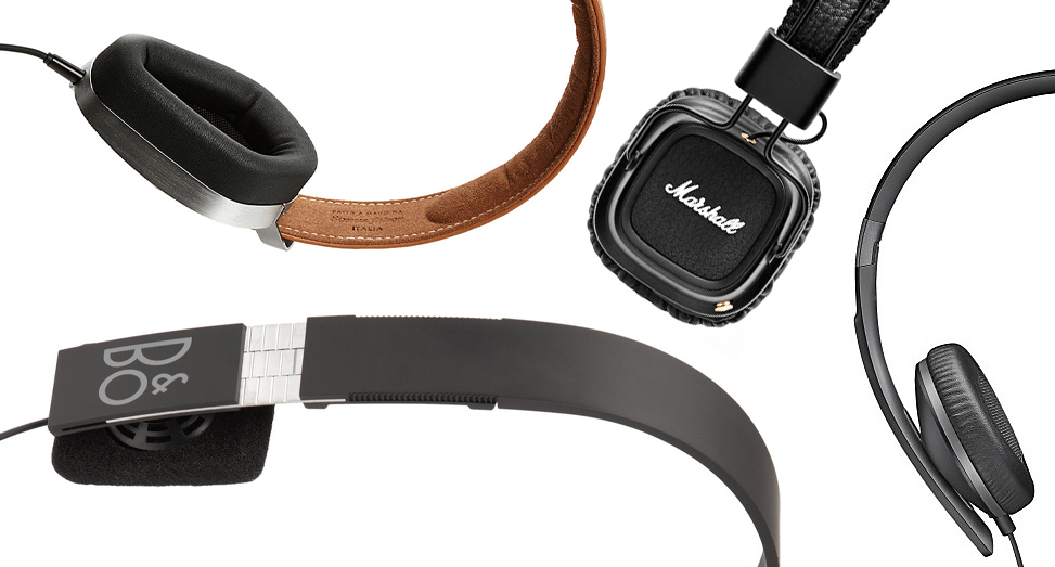 10 pairs of headphones fit for a gentleman