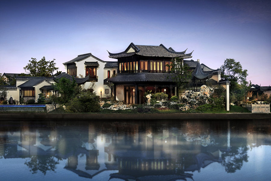 Chinas Most Expensive Home Inside The GBP113 Million Mansion