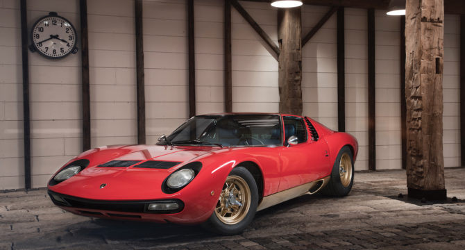 Everything you need to know about the £2 million Lamborghini Miura P400 SV