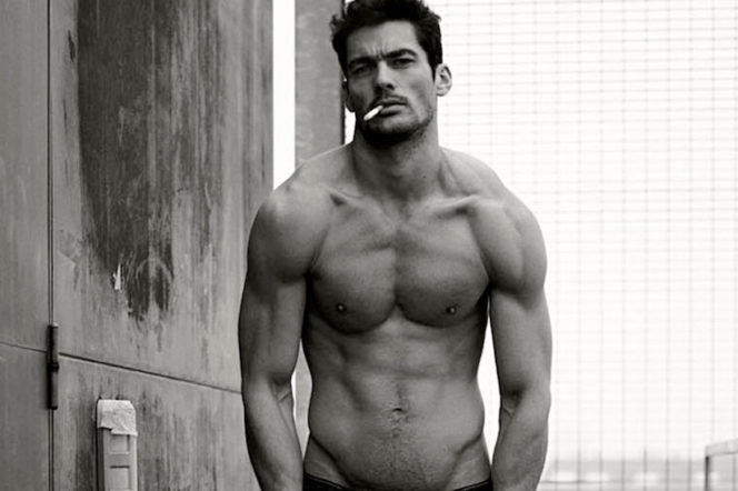 This is how David Gandy stays in shape