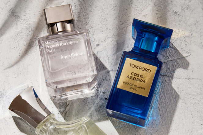 Perfumes photographed by Josh Caudwell for Gentleman's Journal