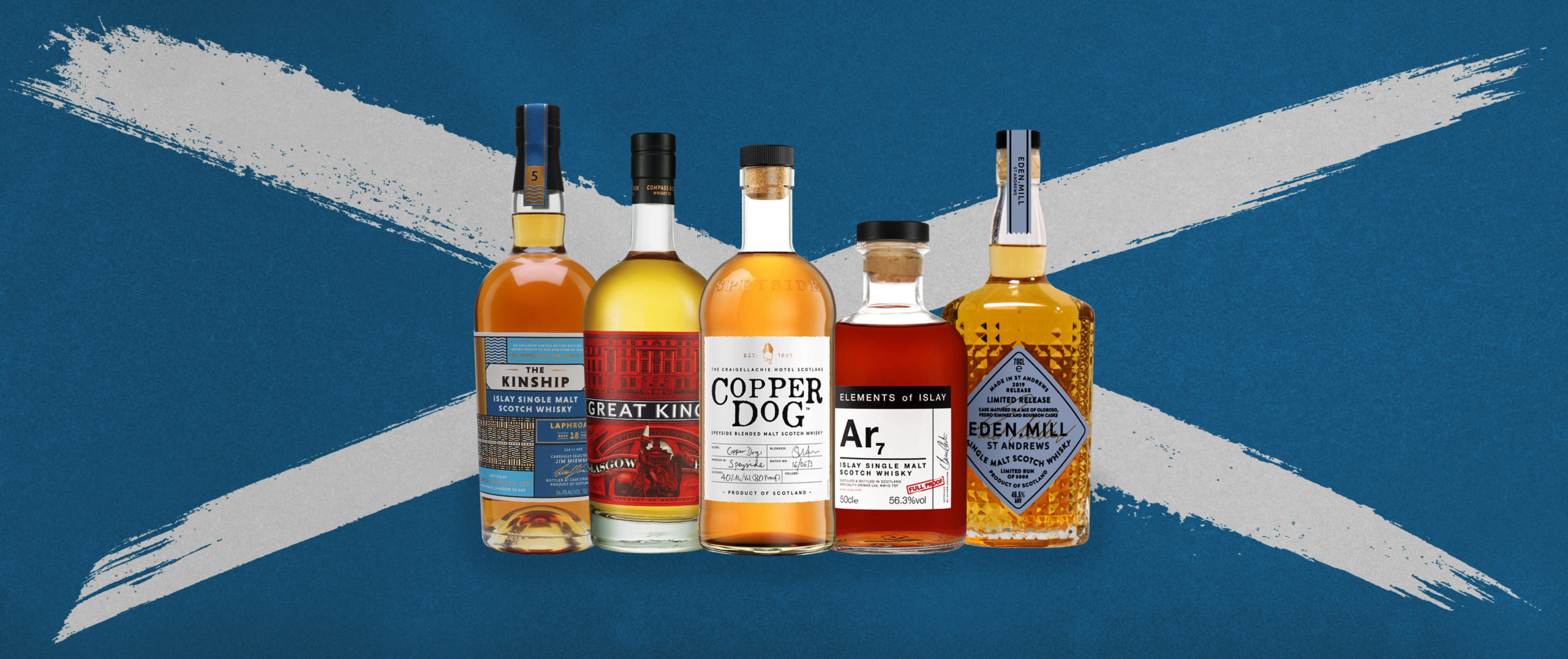 The best boutique Scotch whiskies for Burns Night