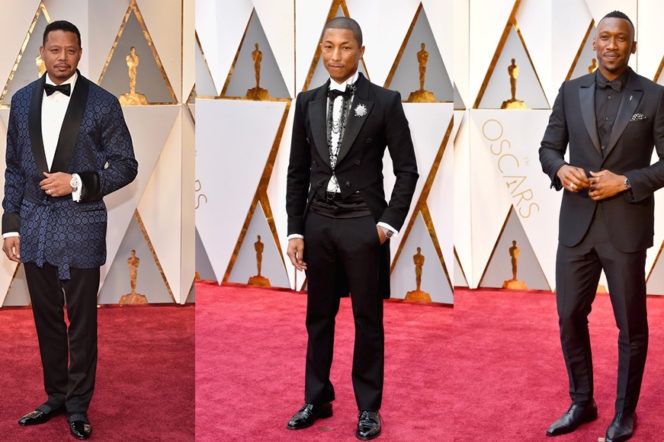 The best dressed men of the 2017 Oscars