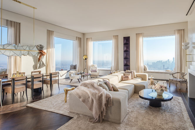 Welcome to the highest penthouse in New York City