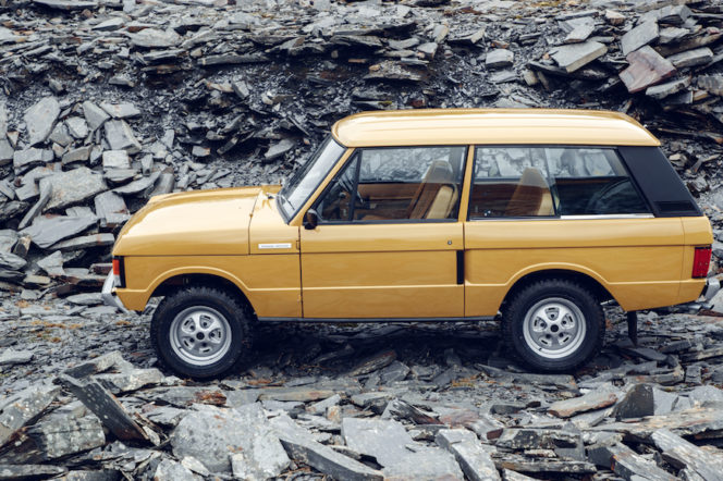Classic Car of the Week: 1978 Land Rover Range Rover Classic