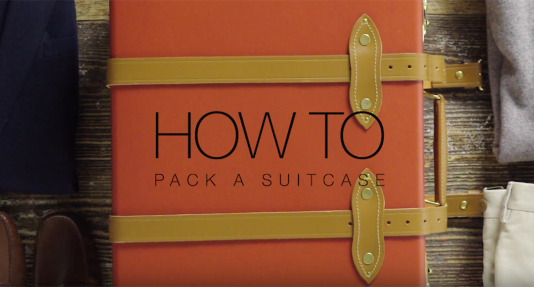 how to pack a suitcase efficiently video
