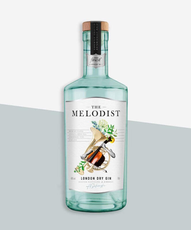 The Melodist London Dry Gin
