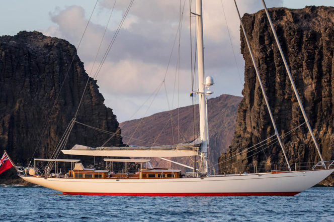 Claasen Yachts have just released the Acadia – and she's stunning
