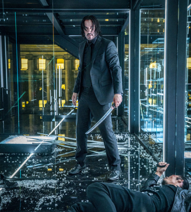 The story behind Keanu Reeves' impeccable John Wick suit
