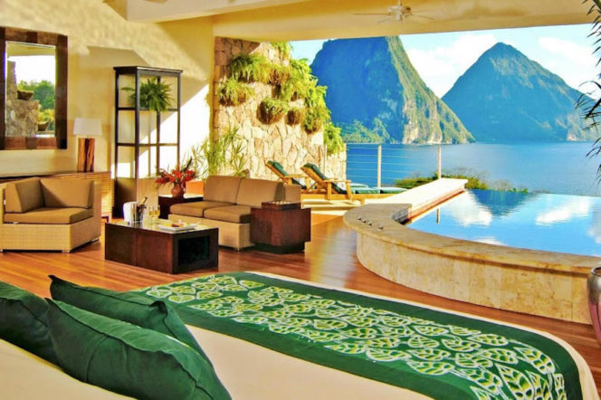 The most incredible hotel rooms in the world