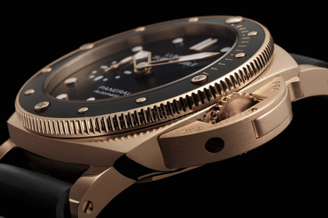 Panerai launch their first slimmed-down Submersible