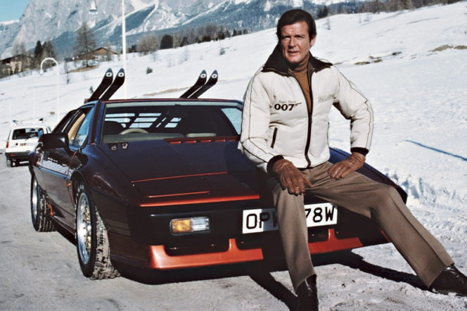 Roger Moore played Bond for some of his most enthralling ski scenes in The Spy Who Loved Me