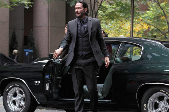 The story behind Keanu Reeve's impeccable John Wick suit