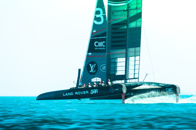 Introducing: the British yacht that could finally bring the America's Cup home