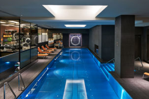 Mandarin Oriental Hotel Gym swimming pool