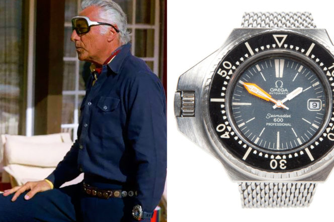 Iconic Omega watches, and the famous men who wore them
