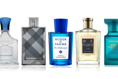 Creed Burberry Aqua Di Parma Floris and Tom Ford perfumes