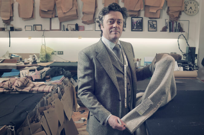 How Richard Anderson is bringing change to Savile Row