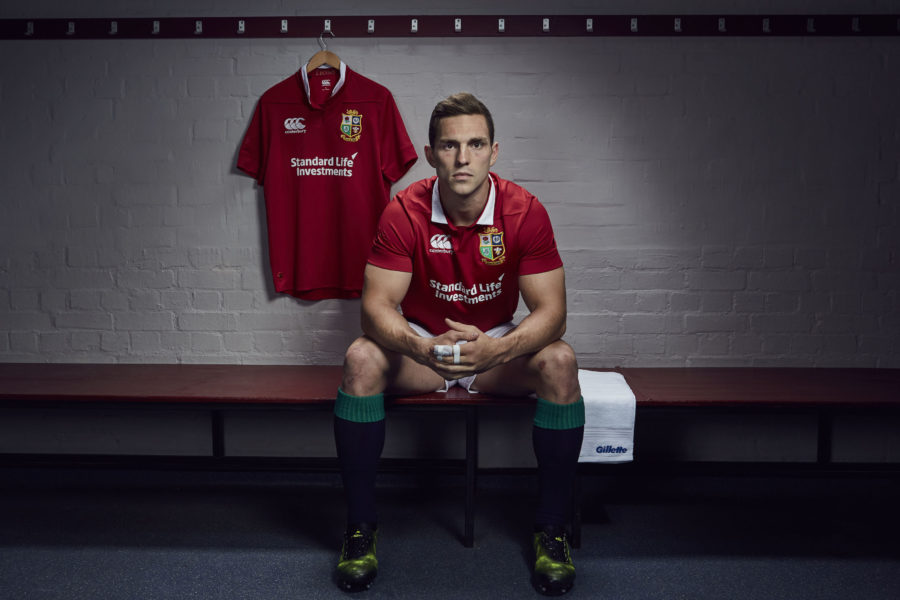 George North for Gillette