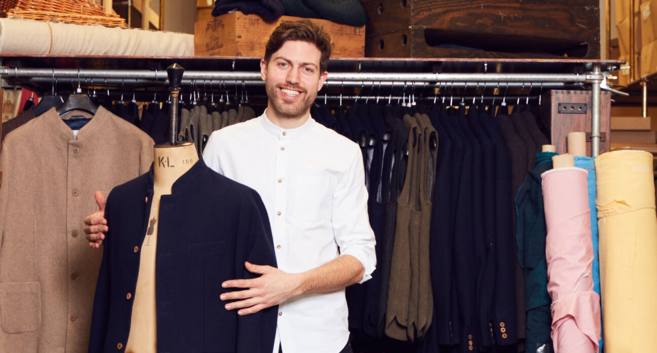 Meet Henry Hales, the man turning offcuts into high fashion
