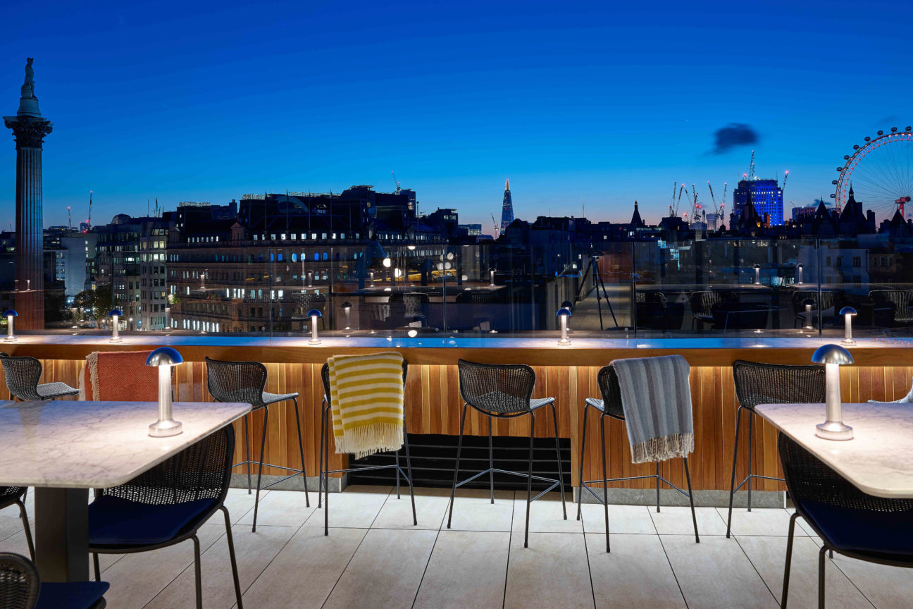 The Rooftop at The Trafalgar St. James