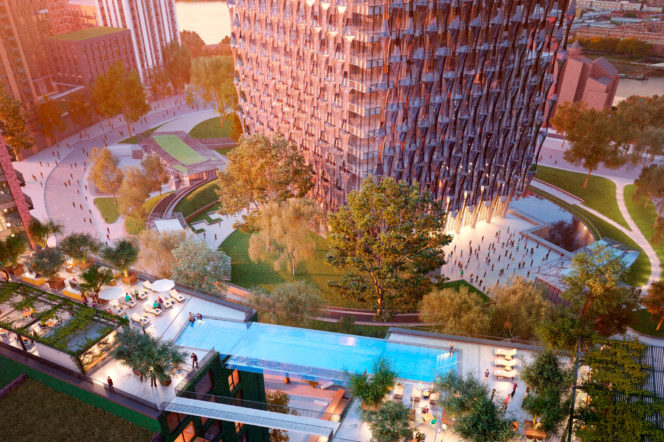 Welcome to Embassy Gardens, one of London's most important new developments