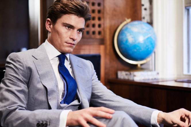 Oliver Cheshire shot by Adam Fussell for Gentleman's Journal