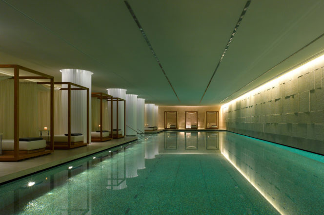 bulgari hotel and residences swimming pool