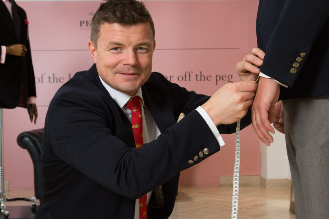 "Brian O'Driscoll: ""As a sportsman, you can't buy off the peg"""