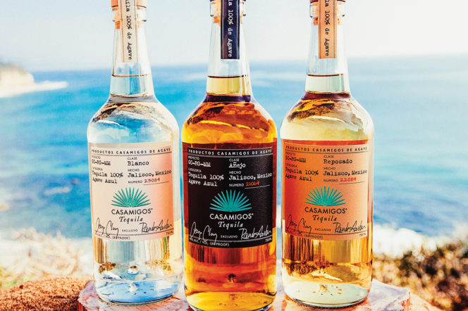 George Clooney and Rande Gerber talk their authentic Mexican Tequila, Casamigos