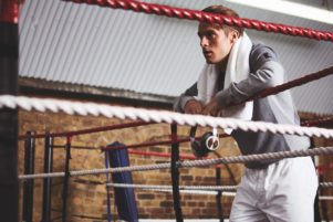 Boxing ring photo shot by Josh Shinner for Gentleman's Journal