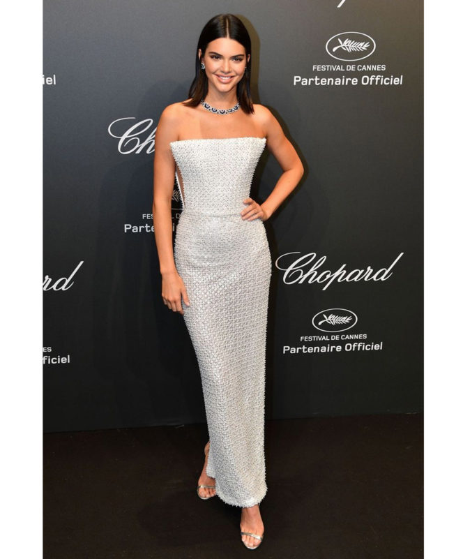 Chopard Space Party - May 19 2017 Kendall Jenner wore a Ralph & Russo Couture gown and Chopard jewellery