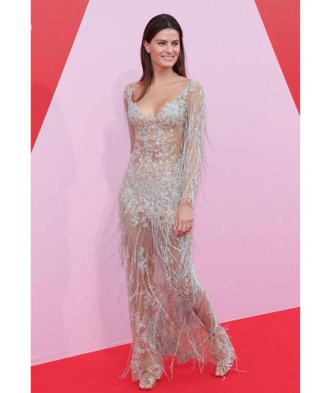 Fashion For Relief - May 21 2017 Isabeli Fontana wore Celia Kritharioti Haute Couture