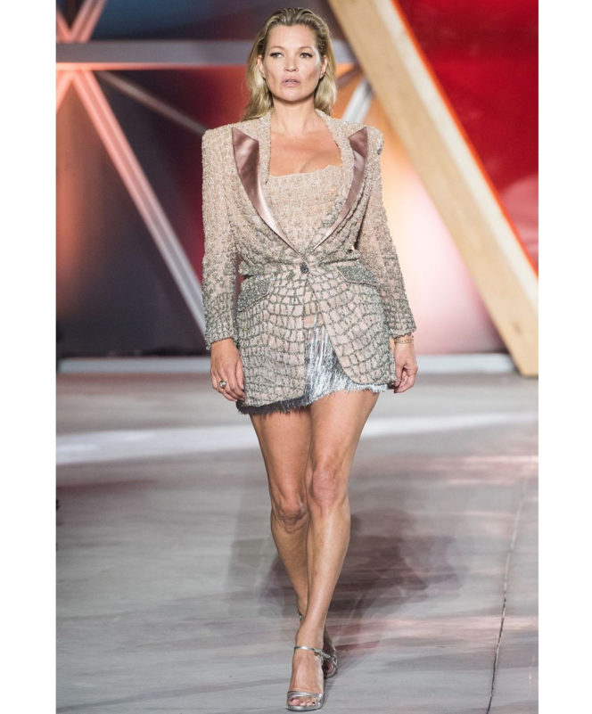 Fashion For Relief - May 21 2017 Kate Moss in Atelier Versace