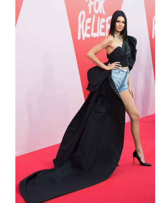 Fashion For Relief - May 21 2017 Kendall Jenner in Alexandre Vauthier Couture