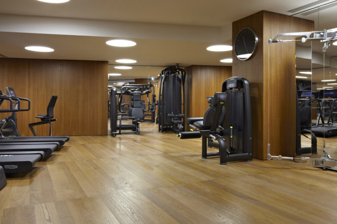 bulgari hotel and residences main gym