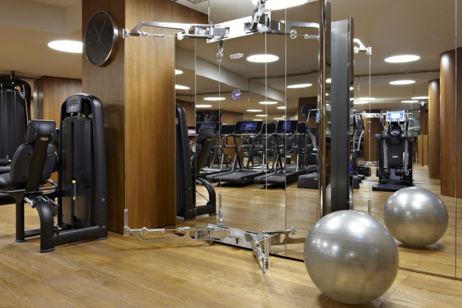 bulgari hotel and spa gym