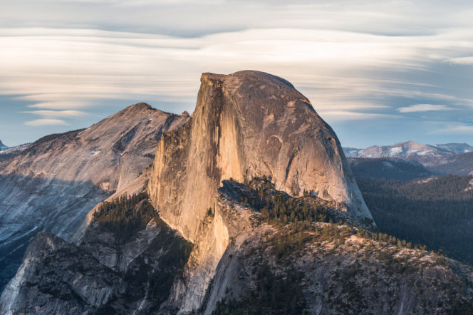 Half Dome Yosemite by David Iliff
